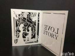【pop-up card】love story