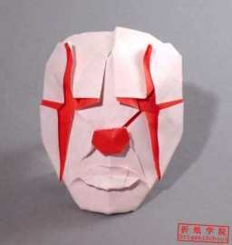 道化面Clown's Mask(48,日文,小松英夫,小丑面具)